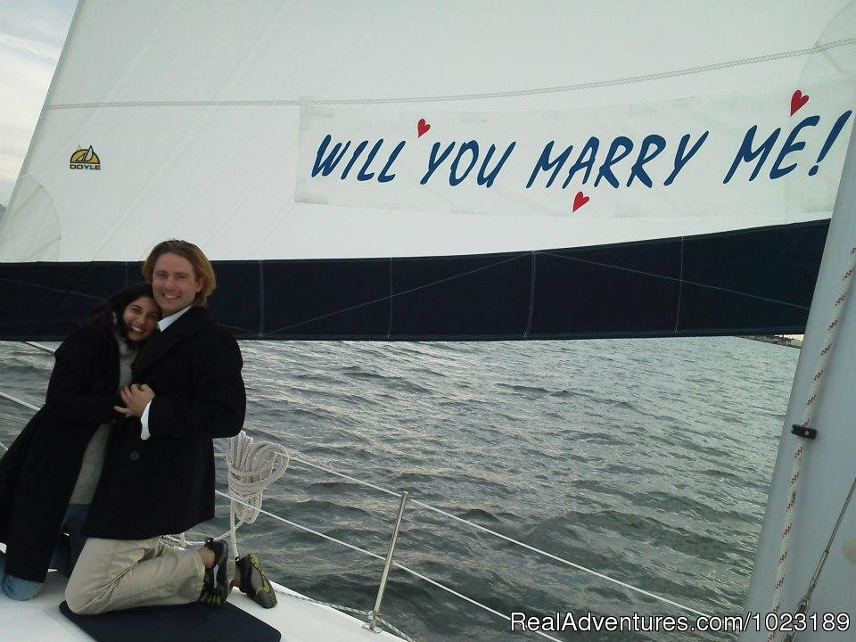 The Perfect Way to Tie the Knot | Image #4/15 | Charter Service, Sailing School & Romantic Getaway