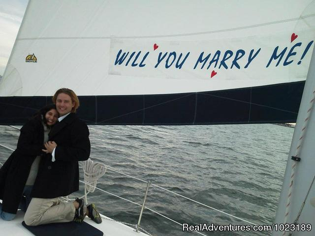 The Perfect Way to Tie the Knot - Charter Service, Sailing School & Romantic Getaway