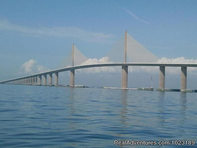 The Skyway Bridge - Charter Service, Sailing School & Romantic Getaway