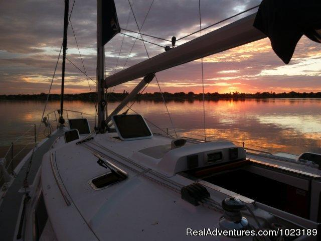 Charter Service, Sailing School & Romantic Getaway Breath-taking Sunset Cruises