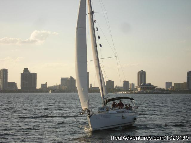 Beautiful Tampa Bay - Charter Service, Sailing School & Romantic Getaway