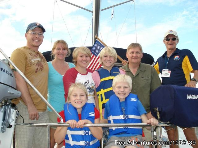 Family Fun - Charter Service, Sailing School & Romantic Getaway