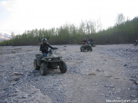 - Adventure Tours in Alaska, Golf, ATV, Horse, Grill