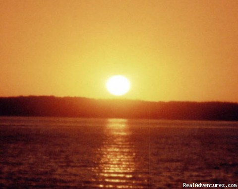 Sunset Over Kentucky Lake (#5 of 10) - What a way to get away at Mansard Island!