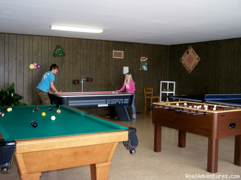 Game Room - What a way to get away at Mansard Island!
