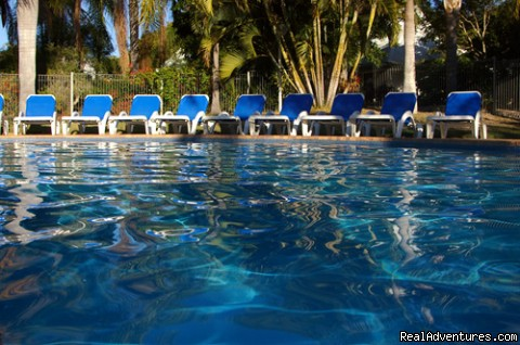 Heated Pool - Kellys Beach Resort- Naturally the place to stay