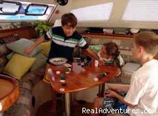 Family fun! - Luxury Yacht Charters with Crew