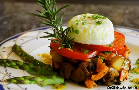 smoked salmon hash - CHESAPEAKE WOOD DUCK INN Bed and Breakfast