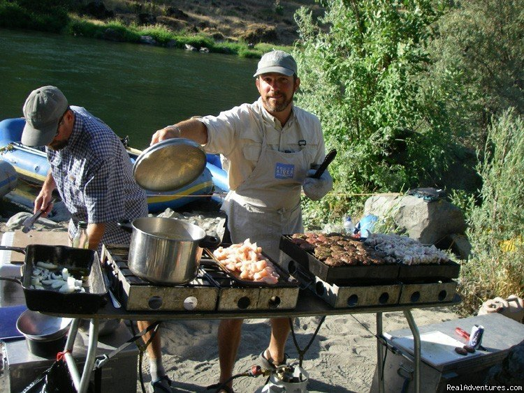 Cooking up a feast on the Rogue River | Image #5/16 | Family Rafting Vacations on Famous Western Rivers
