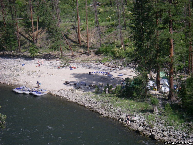 Camp on the Main Salmon River, Idaho | Image #7/16 | Family Rafting Vacations on Famous Western Rivers