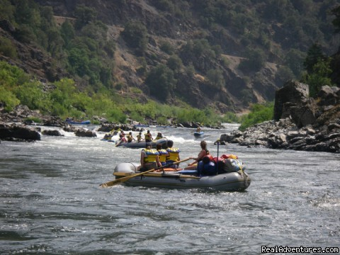 Family Rafting Vacations on Famous Western Rivers