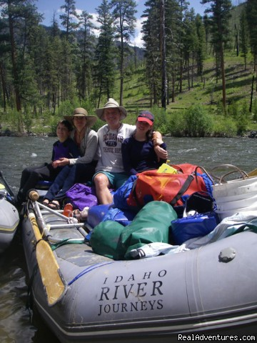Family river trips in Idaho and Oregon - Family Rafting Vacations on Famous Western Rivers