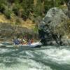 Entering Blossom Bar Rapid, Rogue River