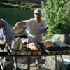Cooking up a feast on the Rogue River