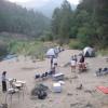 Camping along the Rogue River