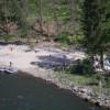 Camp on the Main Salmon River, Idaho