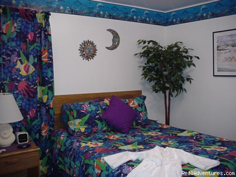 Suite Bedroom - A & D Weiss' Paradise Suites & Vacation Rentals
