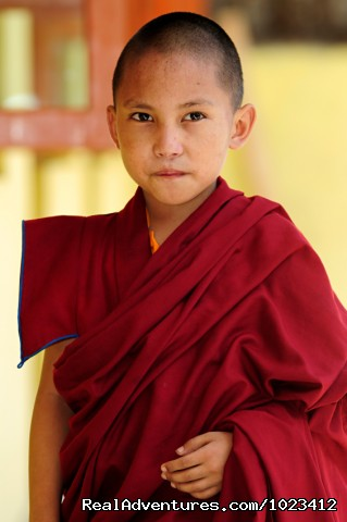 Nepal Family Adventures: Boy Monk