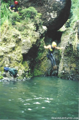 Jumps! - AWOL Canyoning Adventures