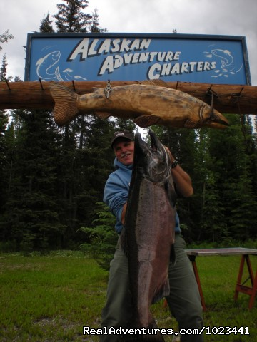 Happy Client - Alaskan Adventure Charters