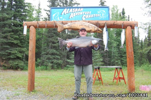 Happy fisherman! (#4 of 5) - Alaskan Adventure Charters
