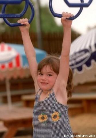 Phew, I'm tyred - SPC Ardmona KidsTown Adventure Playground