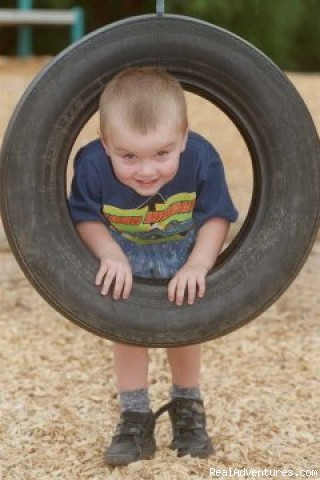 Drive me to KidsTown - SPC Ardmona KidsTown Adventure Playground