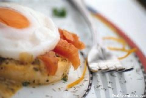 Fine cuisine. - Albergo Hanmer Lodge & Alpine Villas