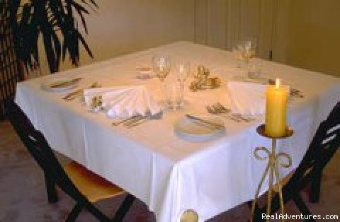 Private dining. - Albergo Hanmer Lodge & Alpine Villas