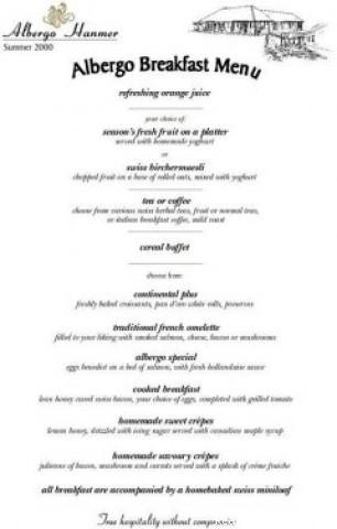 Mouthwatering breakfasts. - Albergo Hanmer Lodge & Alpine Villas