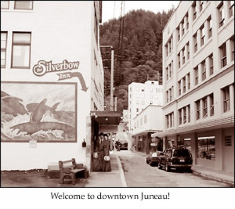 Welcome to downtown Juneau! (#1 of 3) - Silverbow Inn