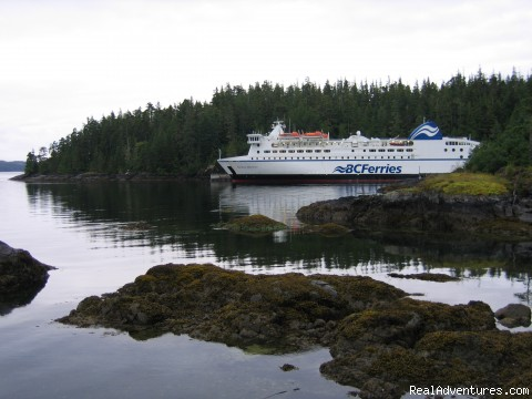 BC Ferries Inside Passage - 3 - 5 day tours of Canada's West Coast