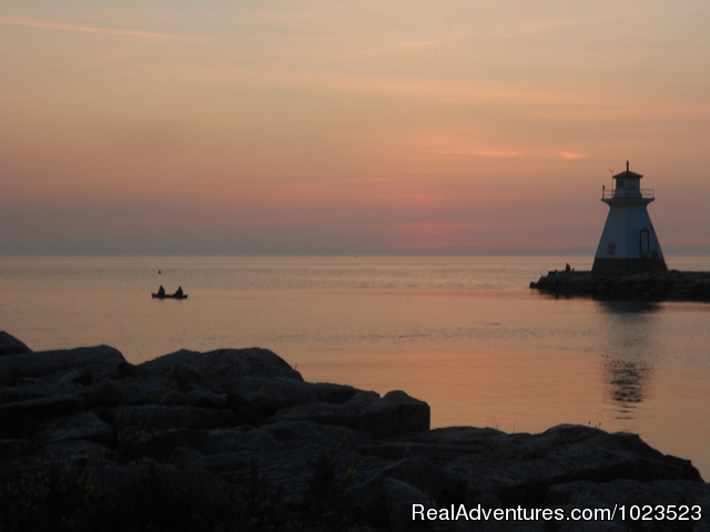 Family Fun, Golf, Fishing at Rosewood Cottages Southampton, Ontario Fishing Trips