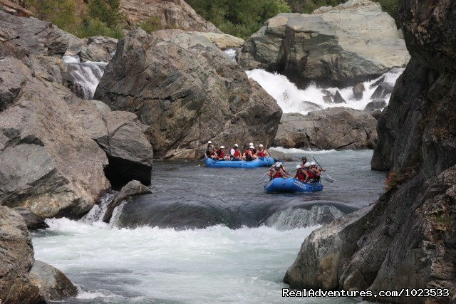 Middle Fork American River - American Whitewater Expeditions Rafting Adventures
