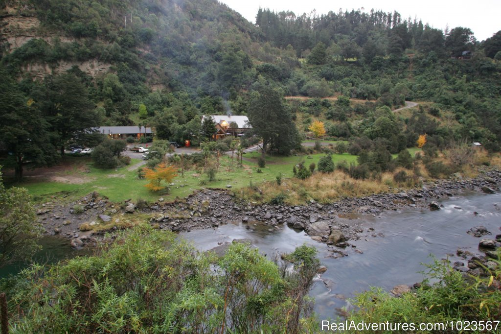 River Valley is a New Zealand adventure lodge situated