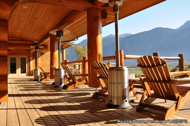 - Exclusive Riverfront Lodge