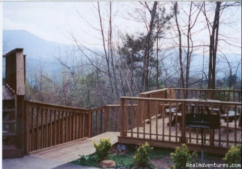 Smoky View Chalet Mountain Dreams Deck