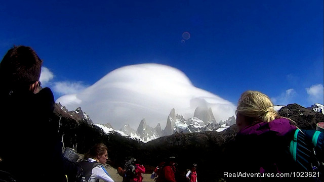 Fitz Roy in the cloud - Fantastic Patagonia & Australis Cruise
