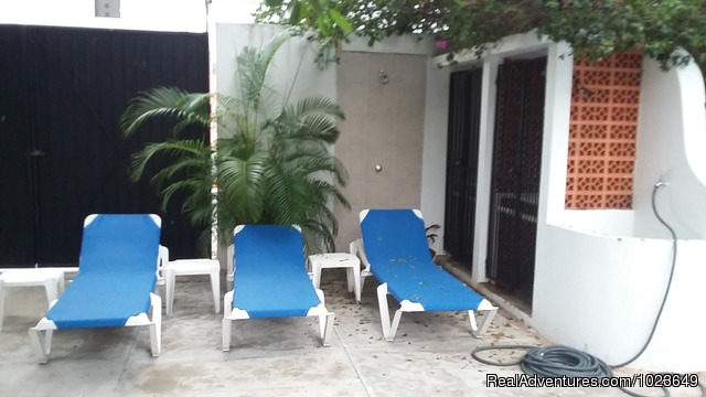 - Cozumel 4 bd with 2 level pool, garden, hammocks
