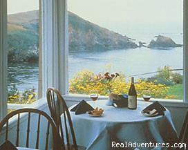 Romantic Ocean View Getaways at Albion River Inn