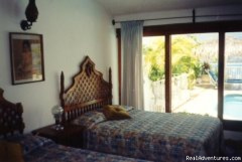 Air conditioned bedrooms - Villa Trini