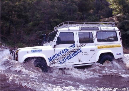 Mountain-Top Experience Expedition vehicle hire
