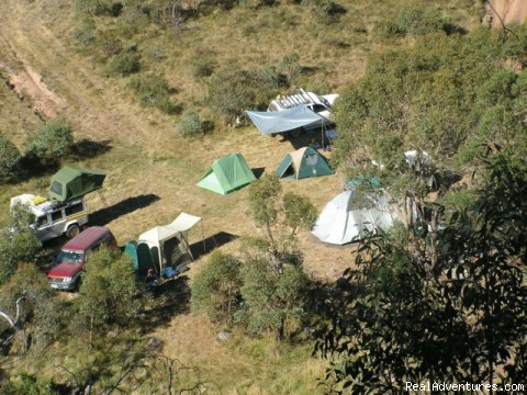 High country camping - Mountain-Top Experience