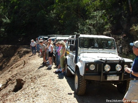 Fully equipped vehicles - Mountain-Top Experience