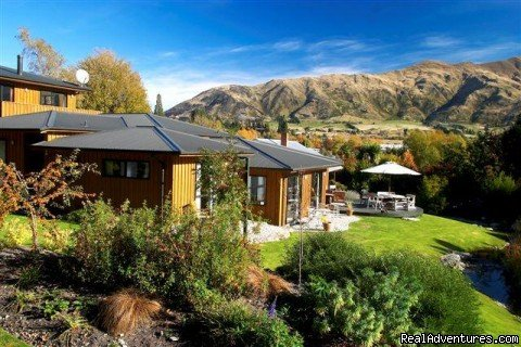 Wanaka Springs Lodge from Spa Pool