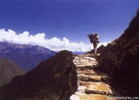 Inca trail to Machu Picchu: Inca trail