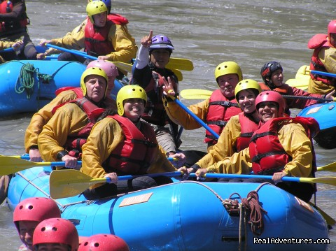 Rafting - Inca trail to Machu Picchu