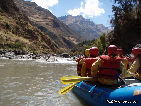 Urubamba river - Inca trail to Machu Picchu