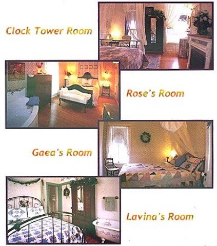 Romantic Victorian. Walking distance to shops, restaurants, recreation. Madison-12 miles, I90-5 miles. Queen beds, private attached baths, whirlpools, fireplaces. Delicious breakfasts. The perfect getaway.  We're waiting for YOU!