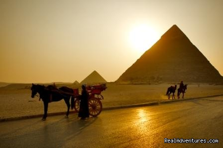 The Great Pyramids in Giza - Egypt Tours, Nile Cruises & Red Sea Diving